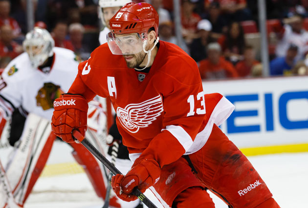 Pavel Datsyuk had 15 goals and 34 assists this season for Detroit. (USATSI)