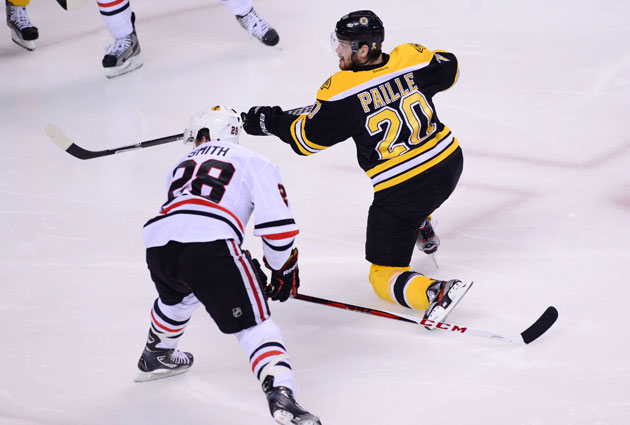 Daniel Paille had another huge game for the Bruins. (USATSI)