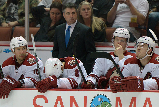 Dave Tippett led Phoenix to the playoffs in three of the last four years. (USATSI)