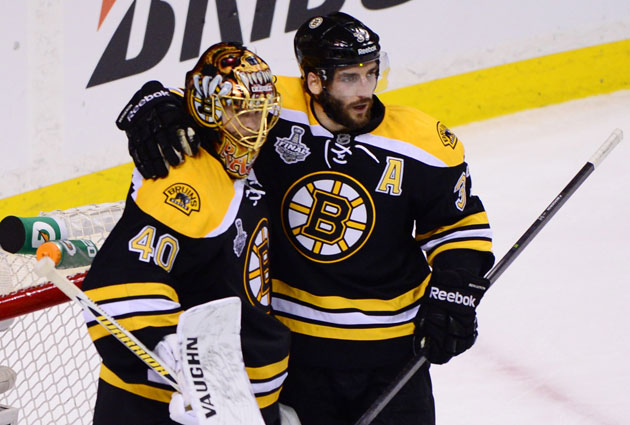 Tuukka Rask and Patrice Bergeron have both been outstanding in this Final. (USATSI)