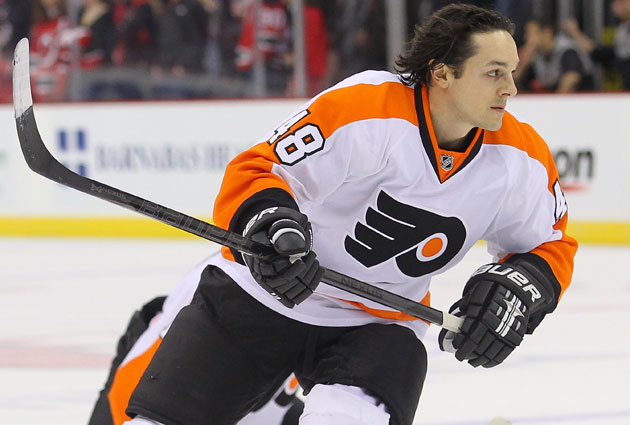 Danny Briere spent the past six seasons in Philadelphia. (USATSI)