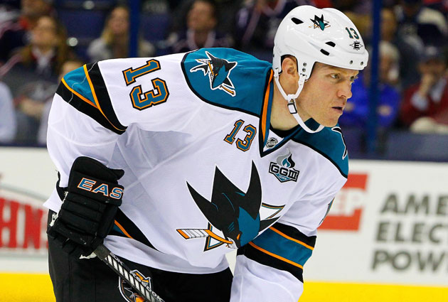 Raffi Torres had six points in 11 regular-season games for San Jose after the trade. (USATSI)