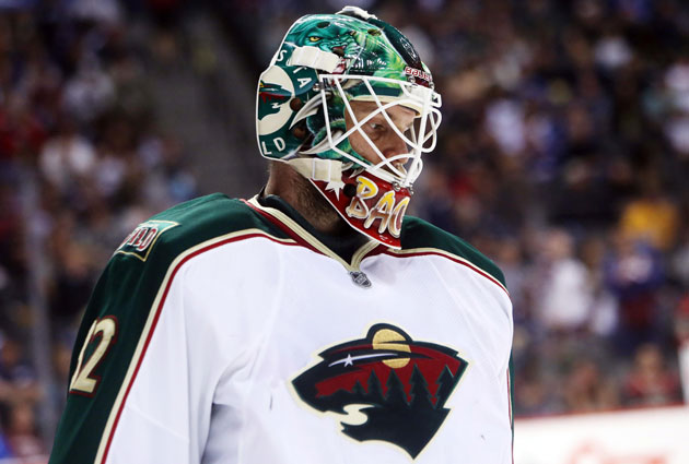 Niklas Backstrom has been with Minnesota since 2006-07. (USATSI)