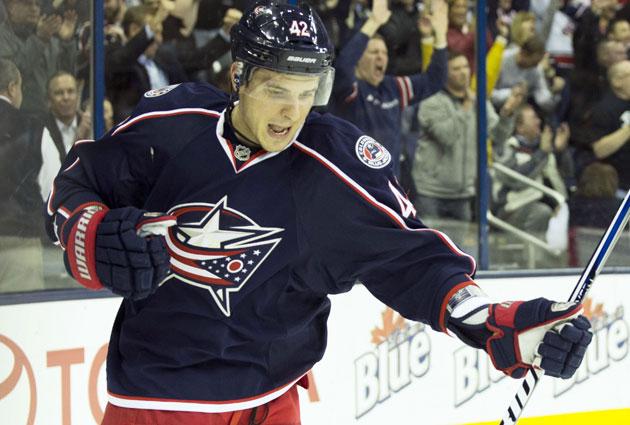 Artem Anisimov had 11 goals in 35 games for Columbus this season. (USATSI)