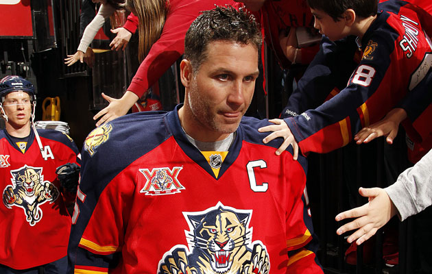 Ed Jovanovski played in just 37 games last season. (Getty Images)