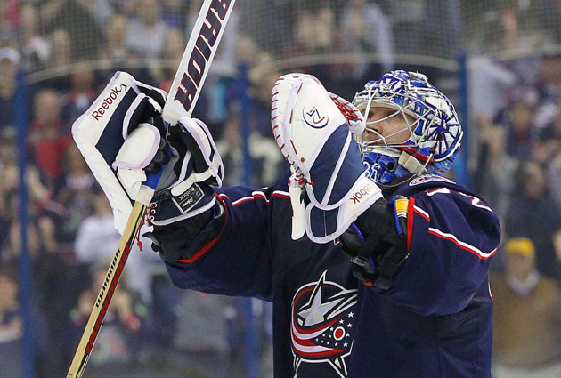 Sergei Bobrovsky just won the Vezina as the league's best goalie. (USATSI)
