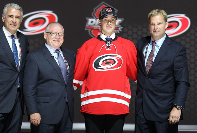 Elias Lindholm is the newest member of the Hurricanes organization. (USATSI)