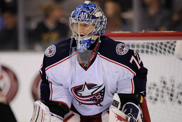 Sergei Bobrovsky starred in his first season in Columbus. (USATSI)