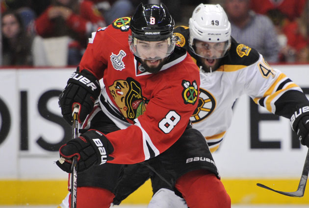 Nick Leddy is coming back for two more seasons, at least, in Chicago. (USATSI)