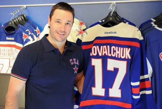 Ilya Kovalchuk will continue to wear No. 17 on his back. (SKA St. Petersburg)