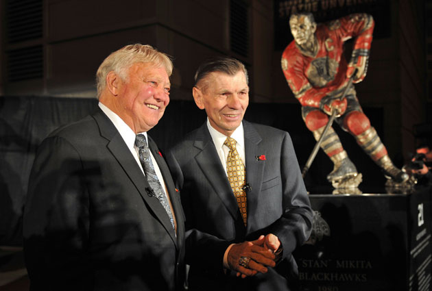 Bobby Hull and Stan Mikita are Blackhawks royalty. (USATSI)
