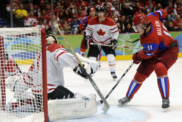 Russia -- not Canada -- is the early favorite to win gold in 2014. (USATSI)
