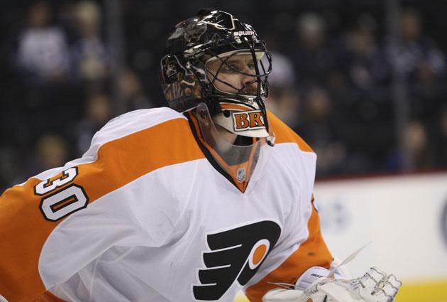 Ilya Bryzgalov spent the past two seasons in Philadelphia. (USATSI)