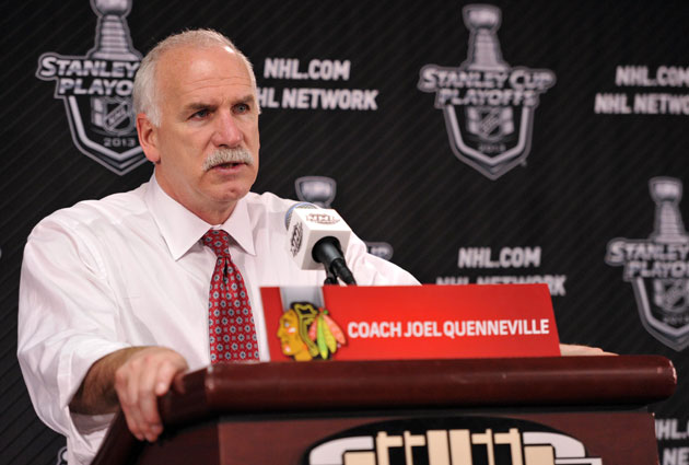 Joel Quenneville has led the Hawks to two Cups in four seasons. (USATSI)