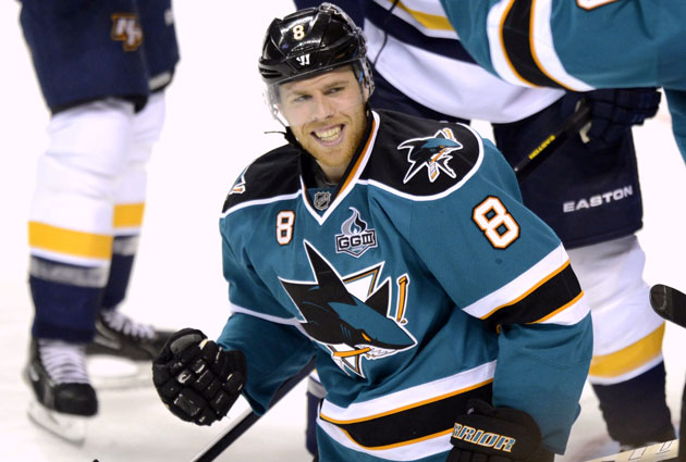 joe pavelski signs fiveyear extension with sharks
