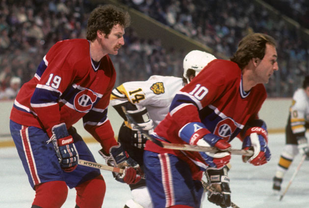 Larry Robinson and Guy Lafleur had some flow as well as game. (USATSI)