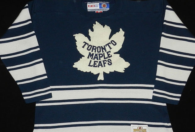 Report  The Maple Leafs to wear sweaters from early 1930s in Winter Classic 36a5472ae