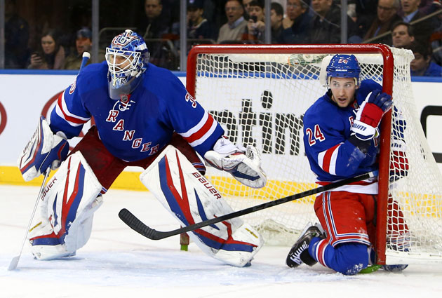 Lundqvist and Callahan are two key Rangers who need new deals soon. (USATSI)