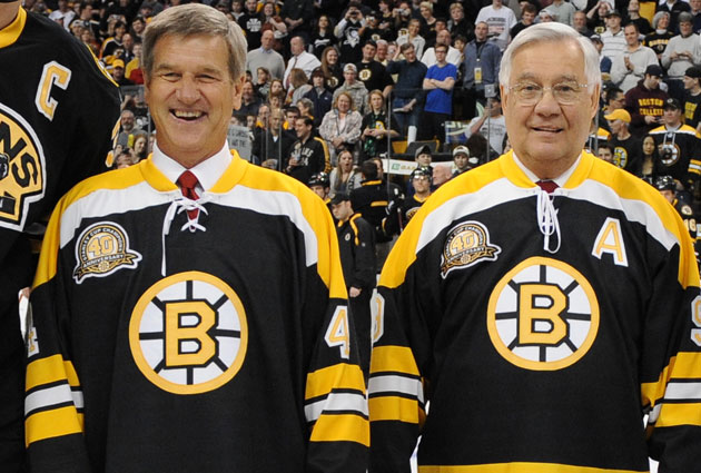 Bobby Orr and John Bucyk were two locks for Boston s roster. (Getty Images) da0065034