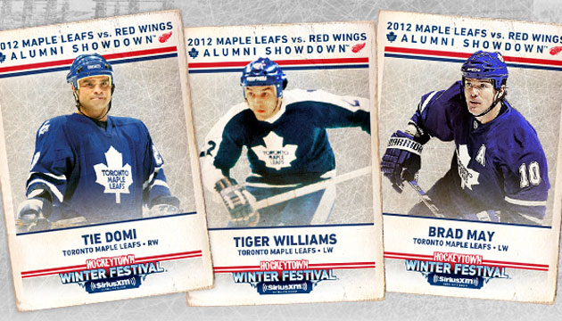 sports shoes a3dd5 943e4 Maple Leafs add Tie Domi, Brad May, 'Tiger' Williams to ...