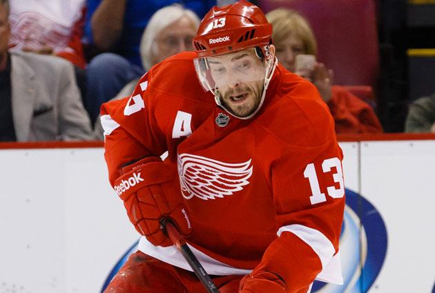 Datsyuk has spent his entire NHL career in Detroit. (USATSI)