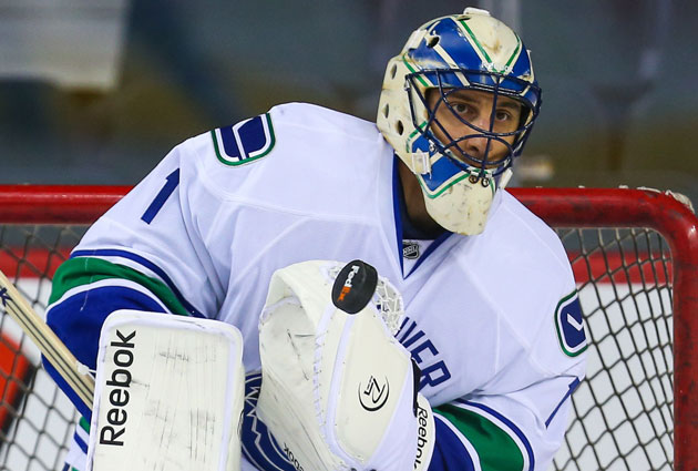 Luongo is back to being the clear No. 1 guy in Vancouver. (USATSI)