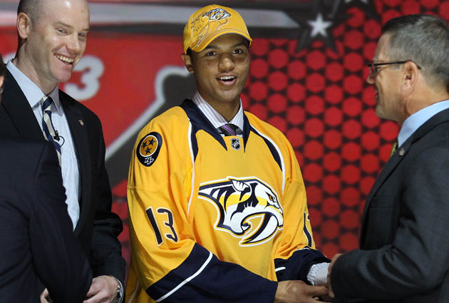 Seth Jones is getting to know a former Predator this week at camp. (USATSI)