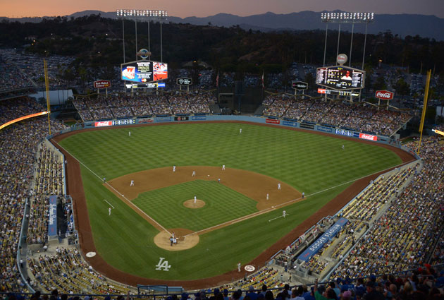A hockey game at Dodger Stadium will certainly be unique. (USATSI)