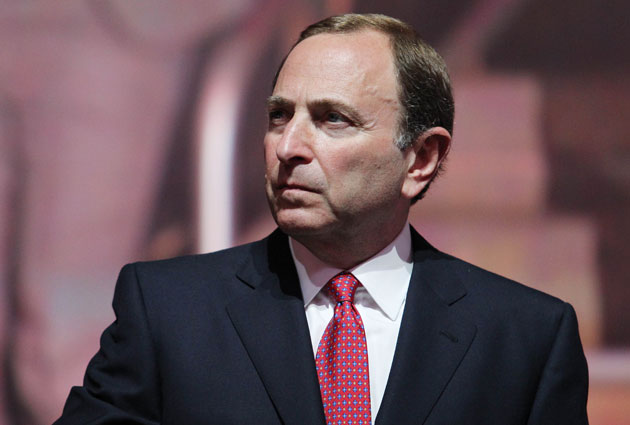 Gary Bettman has seen his salary go up as the NHL's revenue does. (USATSI)