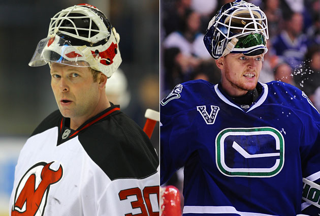 Brodeur and Schneider are 1 and 1A going into the season. (USATSI)