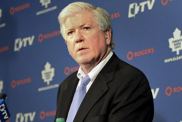 Brian Burke was GM in Toronto up until the beginning of last season. (USATSI)