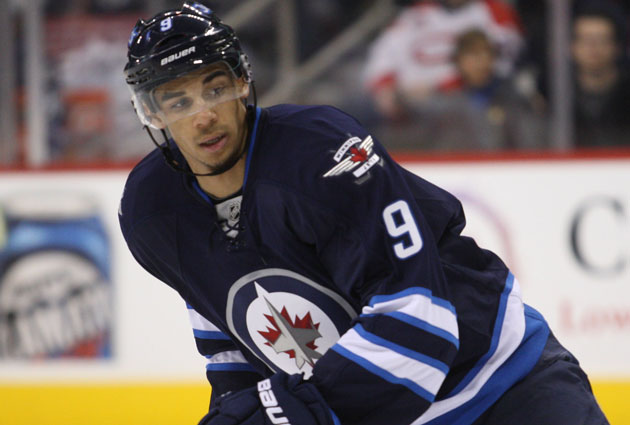 Kane had 17 goals and 16 assists last season for Winnipeg. (USATSI)