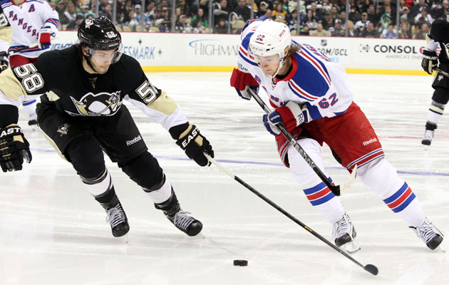 The Pens and Rangs should take two of the three guaranteed Metro playoff spots. (USATSI)