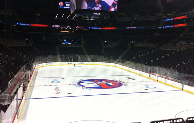 First look at the ice laid down in Brooklyn. (@TalPinch)