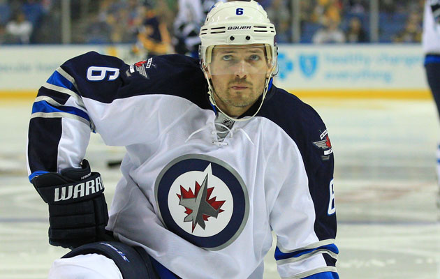 Hainsey had 13 assists in 47 games last season in Winnipeg. (USATSI)