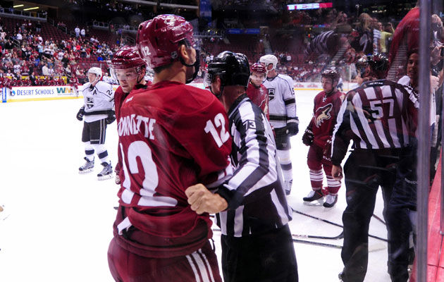 Bissonnette joined in the fracas on Sunday night, earning a suspension. (USATSI)