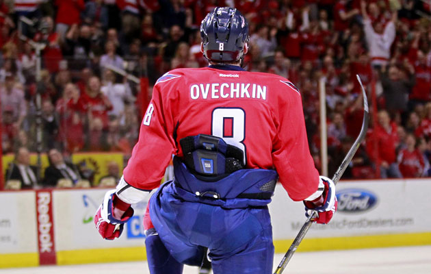 Ovechkin's tucked-in look has got to go. (USATSI)