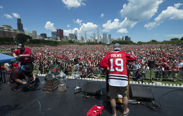 Chicago and its legion of fans is the 11th best franchise? OK. (Getty Images)