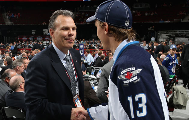 Cheveldayoff has been the only GM of the Jets2.0. (Getty Images)