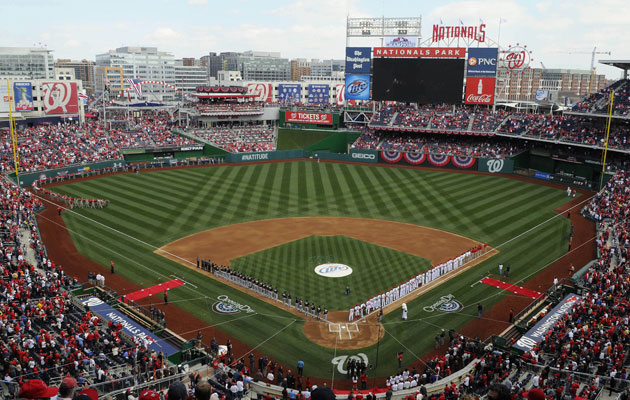 Nats Park is likely the choice for a future outdoor game in DC. (USATSI)