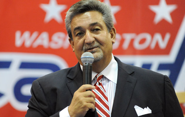 Ted Leonsis has been lobbying for the Winter Classic in DC for years. (Getty Images)