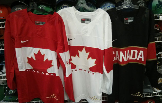 Are these the sweaters Canada will take to Russia? (Reddit)