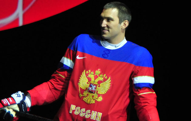 Ovechkin, the reigning MVP, will carry the Torch for Russia. (Getty Images)