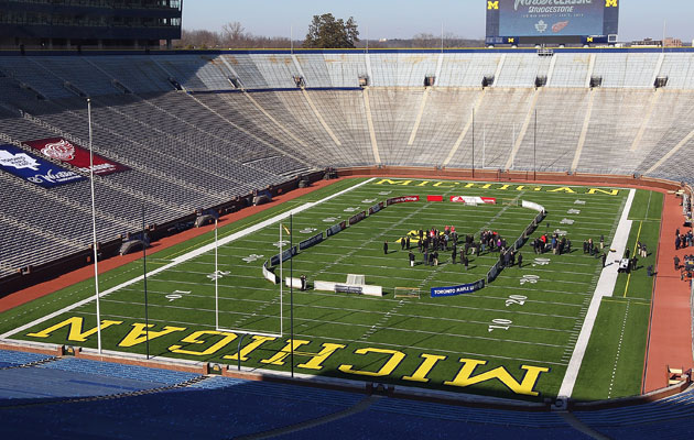 The Big House will play host to a big regular-season game in January. (Getty Images)