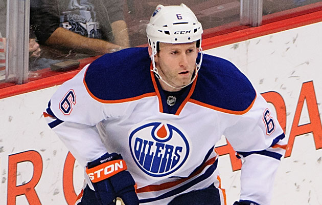 Whitney had four goals, nine assists in 34 games for Edmonton last season. (USATSI)