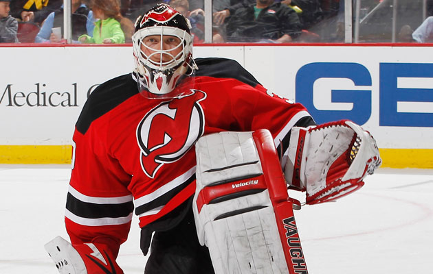 Brodeur will sit the opener for the first time in almost 20 years. (Getty Images)