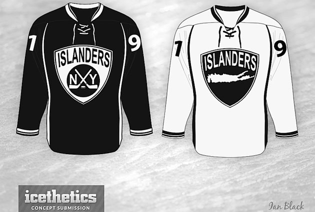 One concept of what a black and white sweater could look like. (Icethetics)