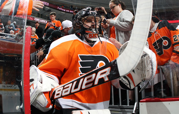 Bryzgalov had a .900 save percentage in Philly last season. (Getty Images)
