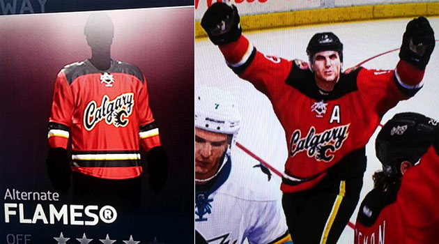 Is that a look at a new Calgary jersey? (Icethetics)