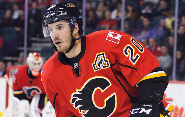 Glencross has a goal and an assists in three games this season. (Getty Images)